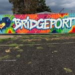 Bridgeport Mural by Bio from TATSCRU for The Knowlton Walls